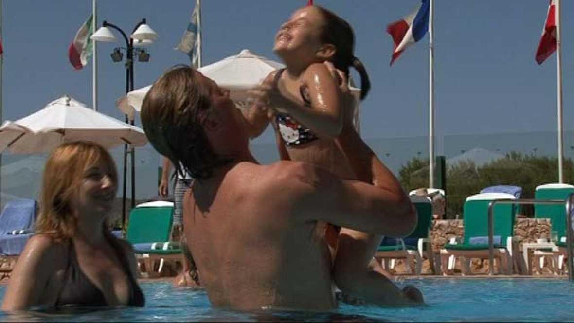 En familia - En la playa - Vacaciones en familia