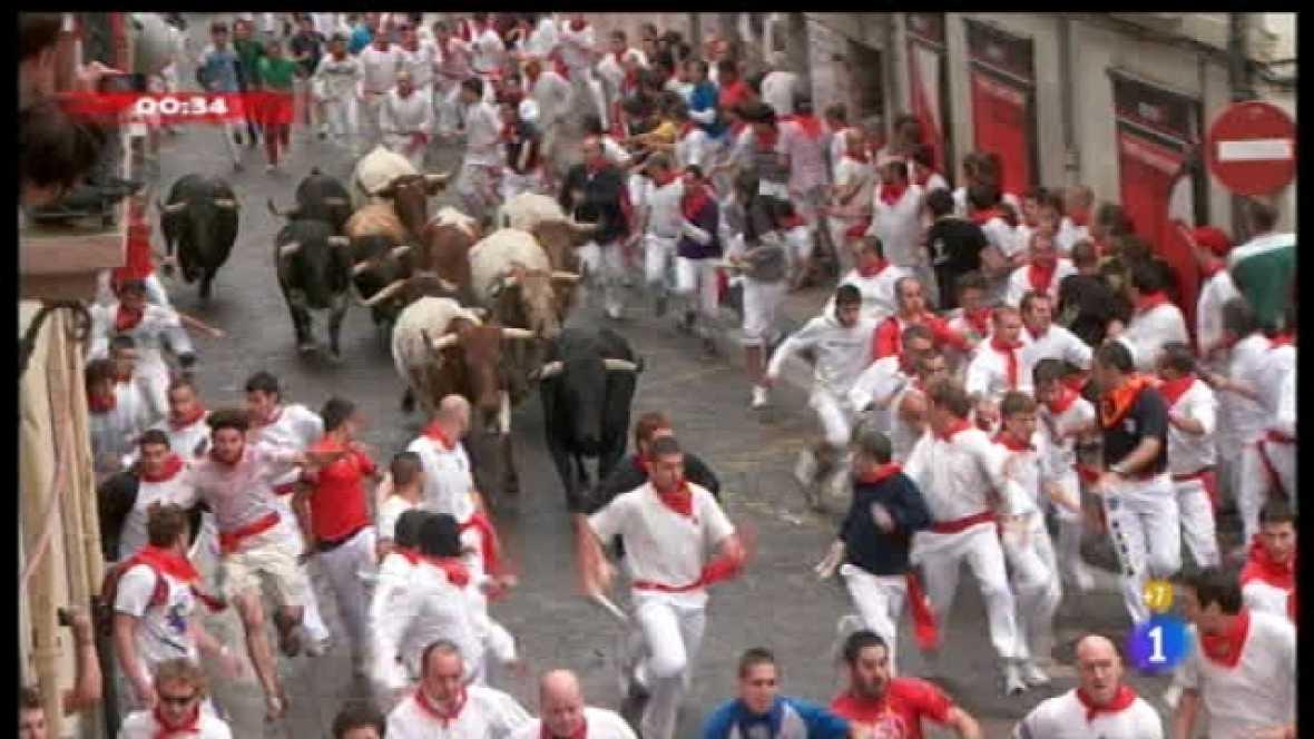 Encierros de San Fermín 2011 - 07/07/11 - Ver ahora