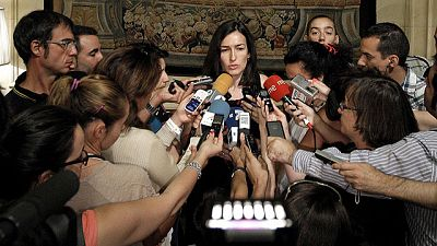 """La ministra de Cultura, Ángeles González-Sinde, ha asegurado que el canon digital """"debe ser transformado""""."""