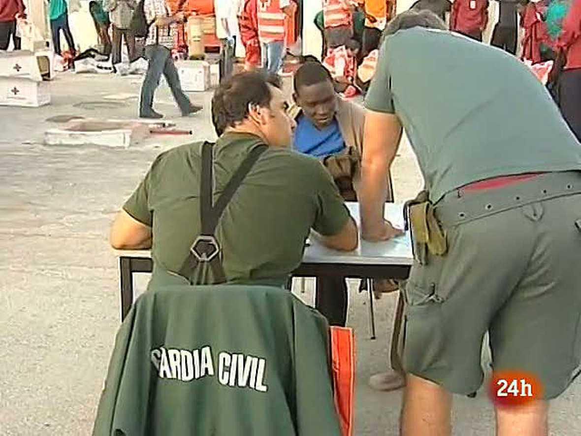 Interceptan a 49 inmigrantes en la costa de Ceuta