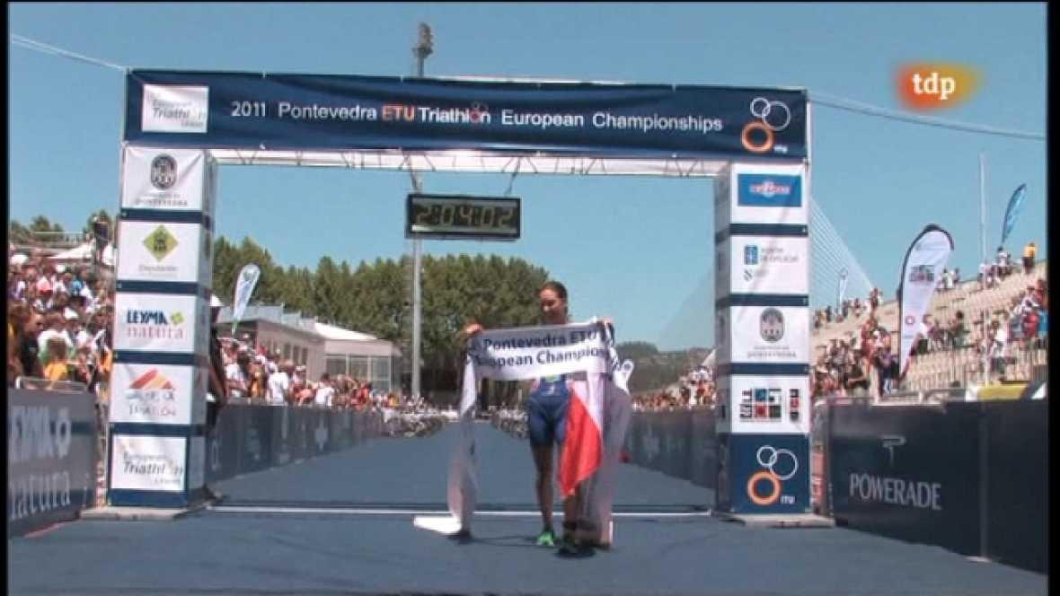 Triatlón - Campeonato de Europa Pontevedra. Resumen - 08/07/11 - Ver ahora