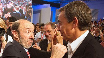 Los diregentes socialistas respaldan las propuestas de Rubalcaba