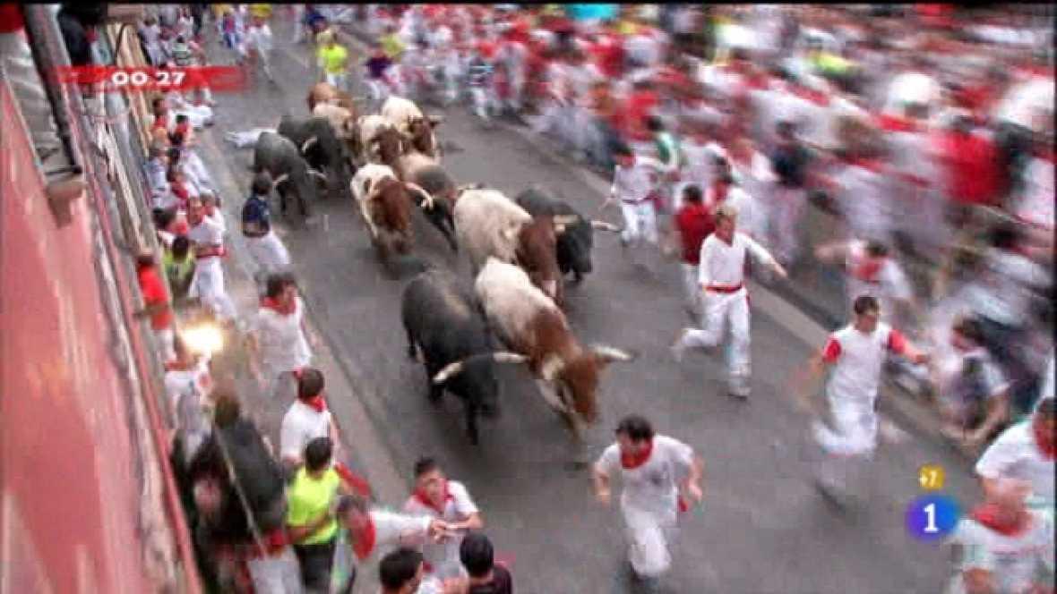 Encierros de San Fermín 2011 - 10/07/11 - Ver ahora