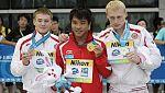 Final de saltos de trampolín de tres metros en el Mundial de Natación de Shanghái