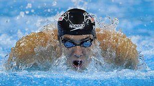 Phelps, oro en 200 mariposa