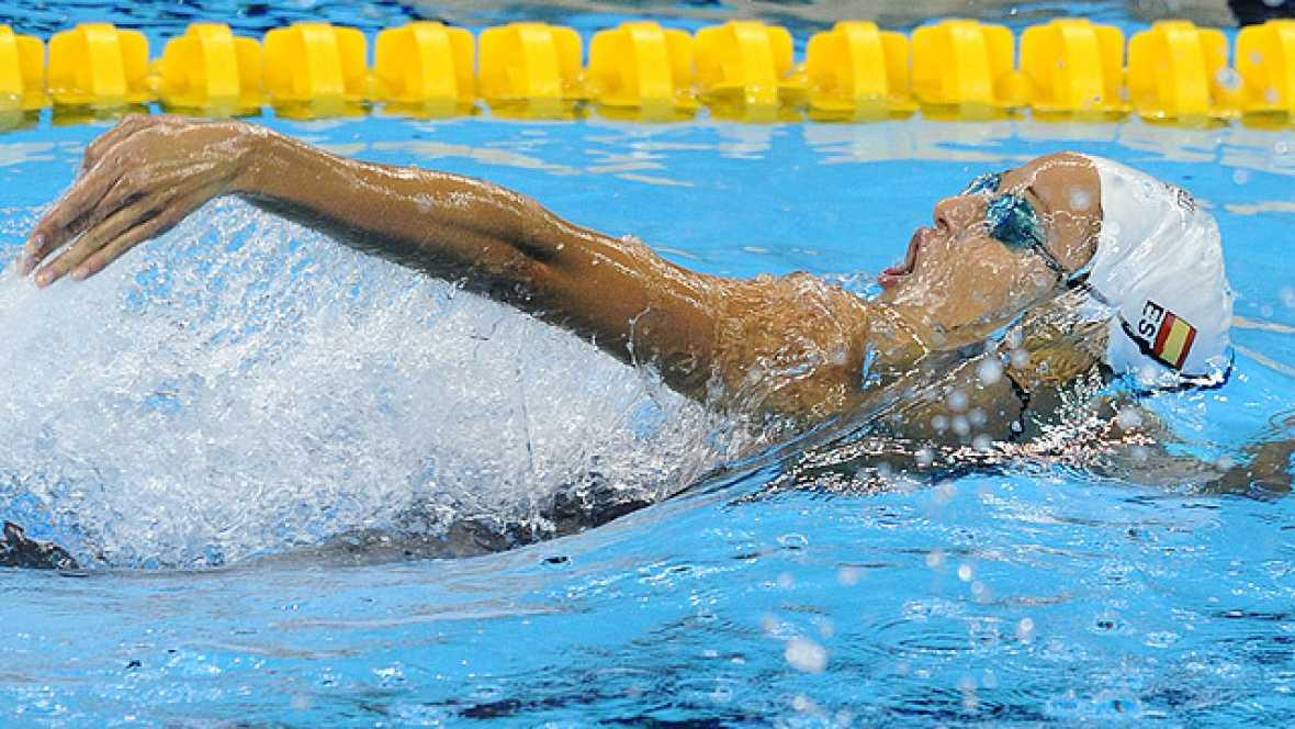 El equipo español de 4x100 estilos ha batido el récord nacional y ha conseguido su plaza en los Juegos de 2012 en el Mundial de Shanghái.
