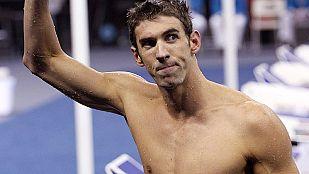 Phelps logra su tercer oro en los 100 mariposa