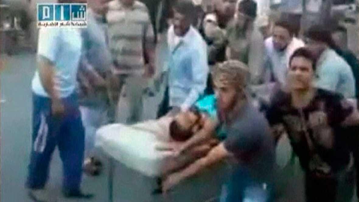 Tanques del ejército atacan la ciudad siria de Hamá