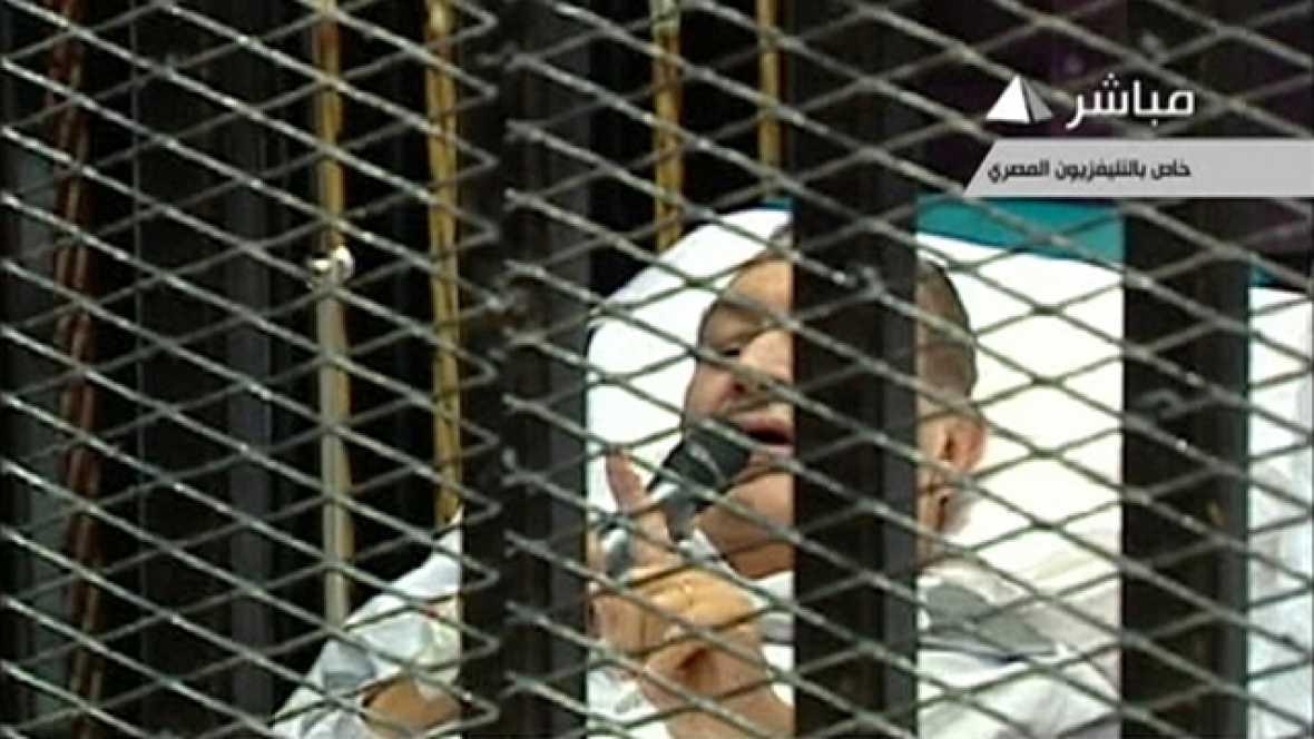 """Mubarak: """"Niego todos los cargos y las acusaciones categóricamente"""""""