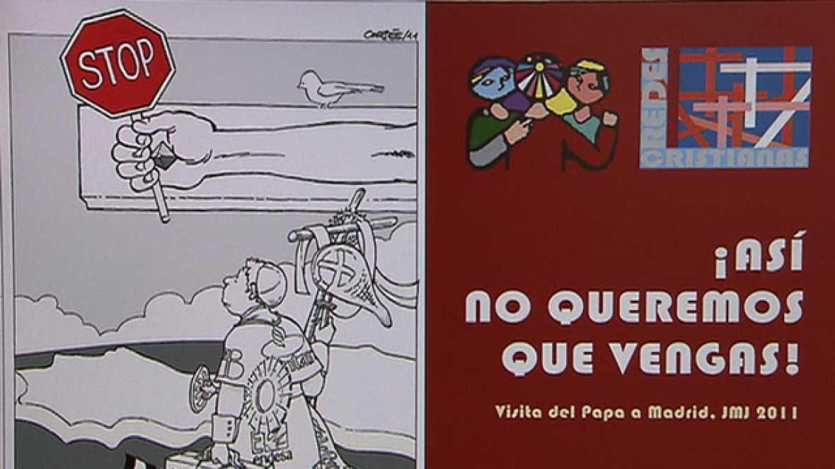 Los convocantes de la manifestación contra la visita del Papa se niegan a trasladar la protesta