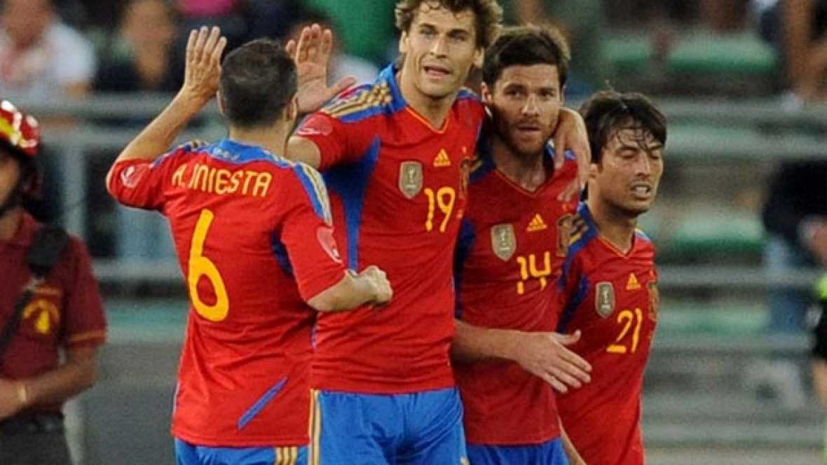 El centrocampista español transforma la pena máxima y devuelve la igualdad al marcador