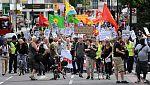 Calma en las calles de Londres una semana después de los disturbios