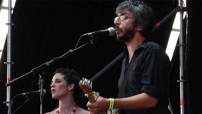 Xoel López destacó en la jornada del sábado del Sonorama 2011