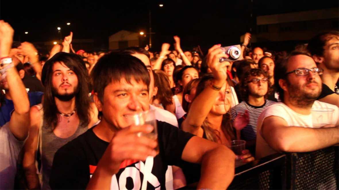 Concierto de Shout Out Louds en el Sonorama 2011