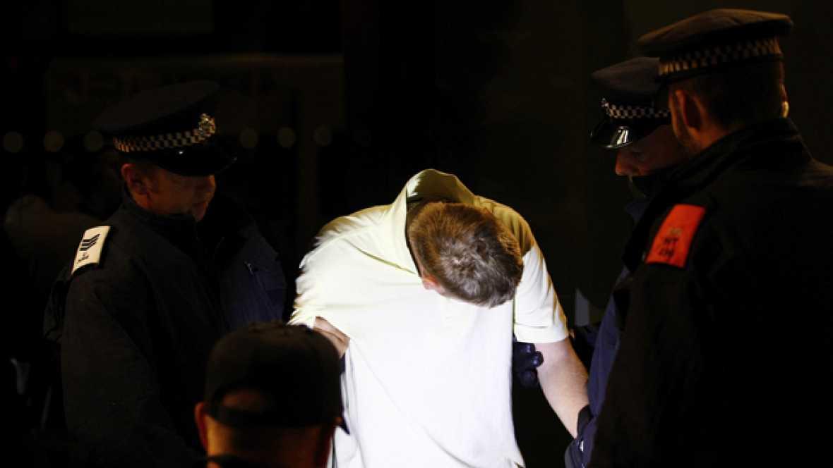 Son ya 1.554 los detenidos por los disturbios en Londres