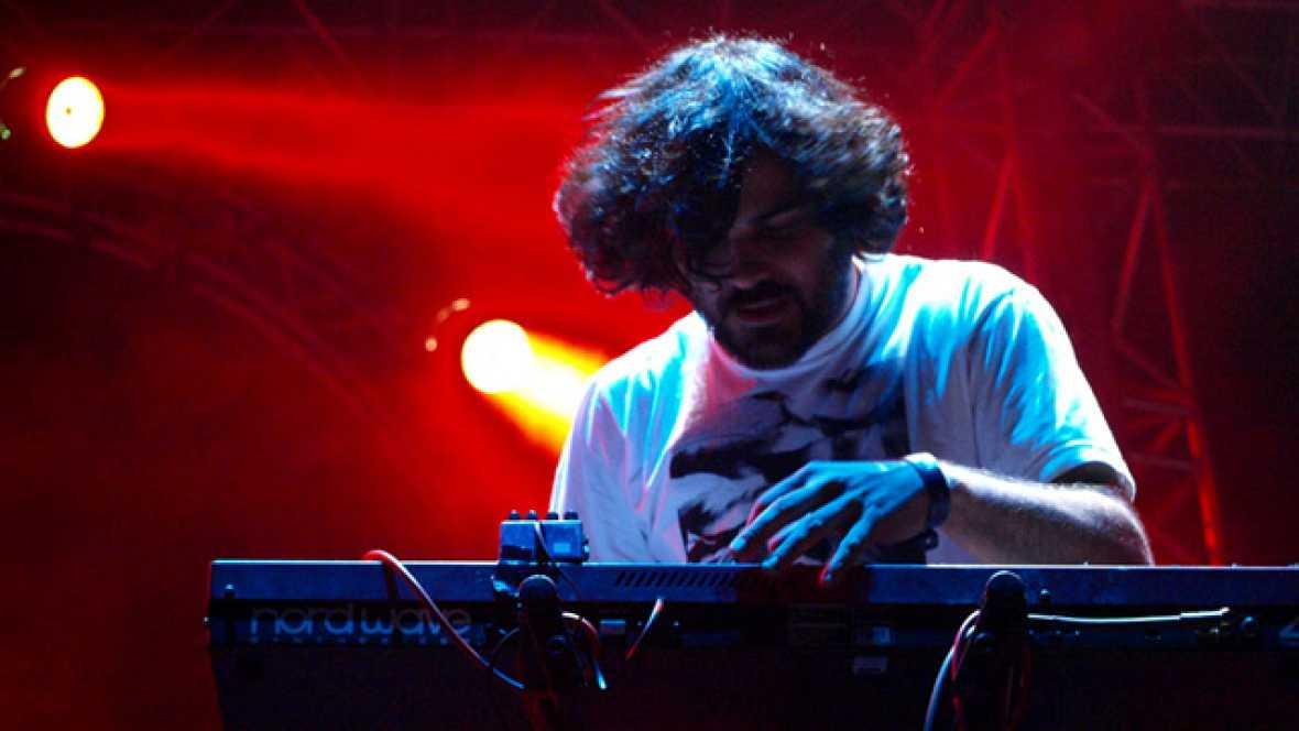 Concierto de Delorean en Sonorama 2011