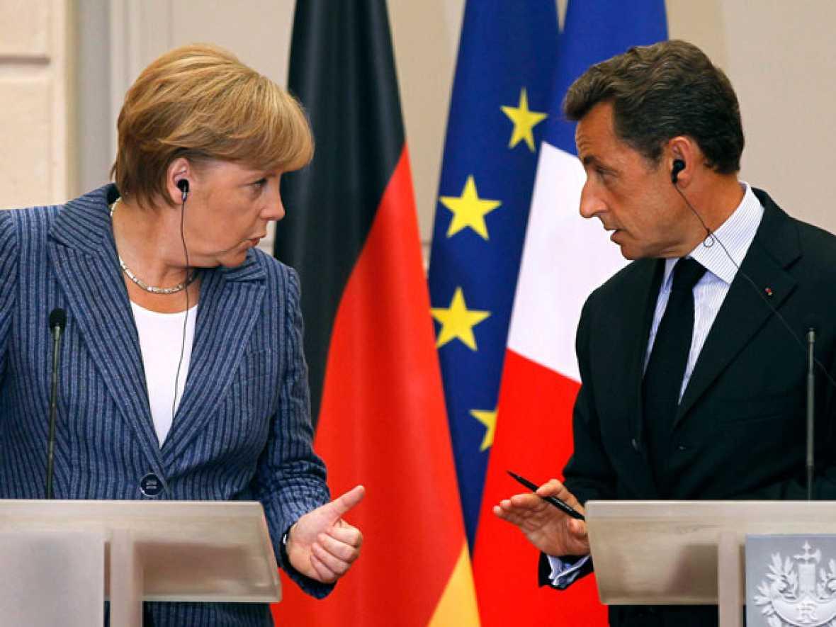 Francia y Alemania instan a limitar el déficit en la Constitución y crear un gobierno único en la zona euro
