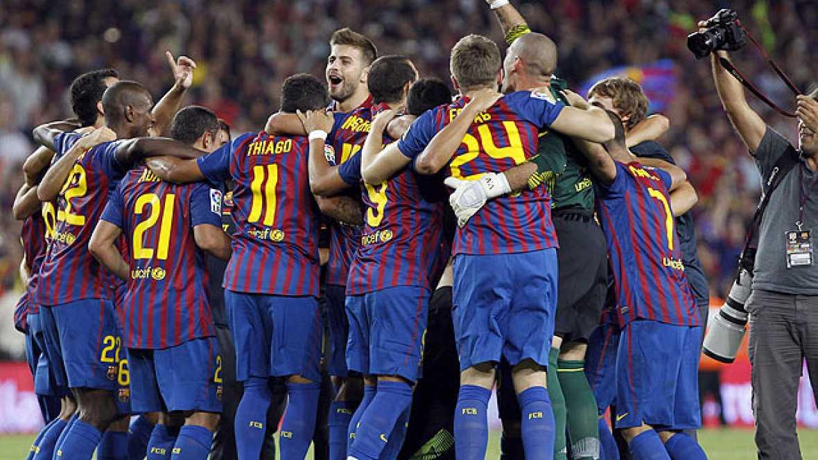 El buen fútbol desplegado en la Supercopa ha quedado emborronado por la bronca final entre jugadores y equipo técnico de ambos conjuntos, de la que salió vencedor el Barcelona, gracias a la gran actuación de su estrella, Leo Messi.