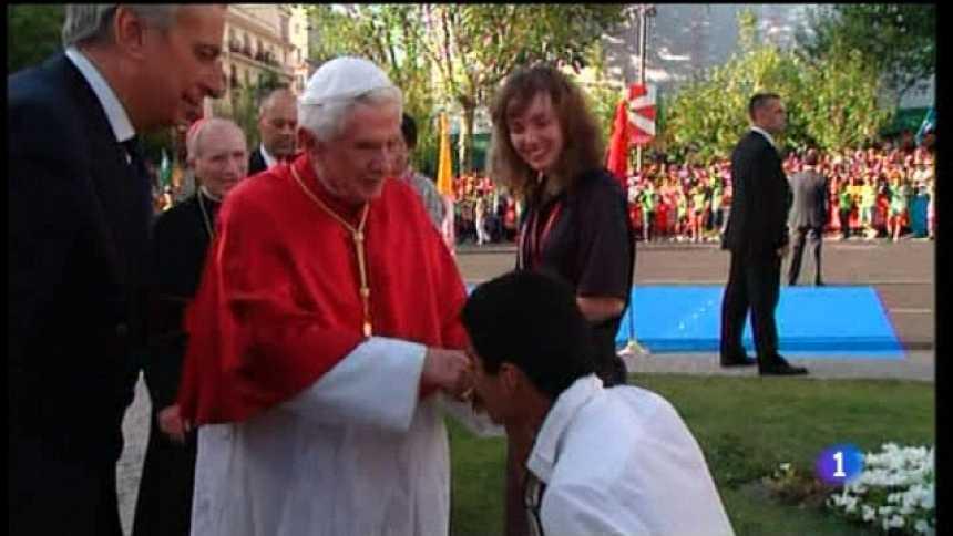 Especial informativo - Visita de S.S. el Papa Benedicto XVI - 18/08/11