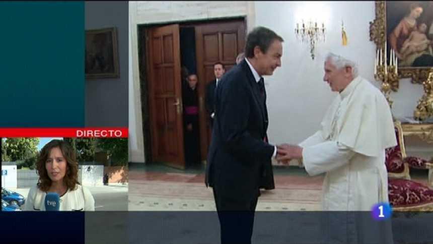Especial informativo - Visita de S.S. el Papa Benedicto XVI - 19/08/11
