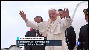 Especial informativo - Visita de S.S. el Papa Benedicto XV