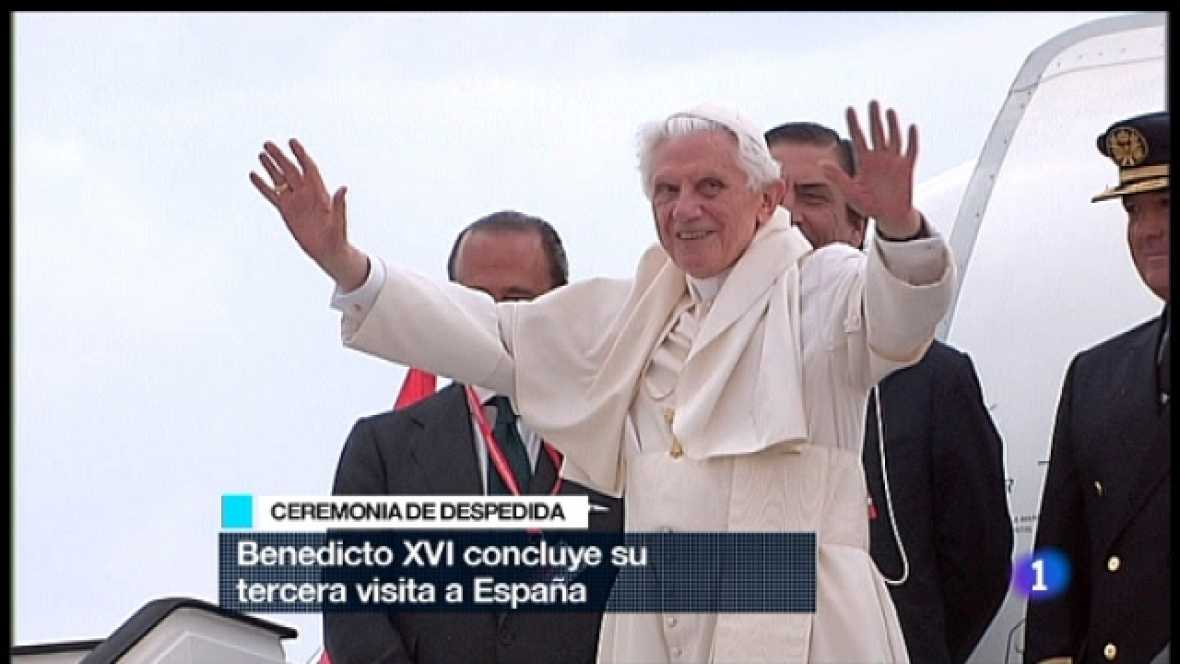 Especial informativo - Visita de S.S. el Papa Benedicto XVI - Despedida oficial al Santo Padre - 21/08/11 - Ver ahora