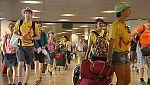 Miles de jóvenes peregrinos regresan hoy a sus casas