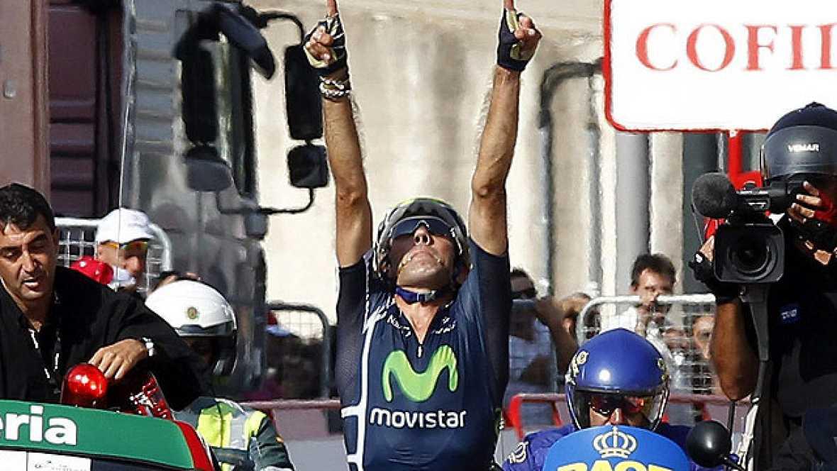 Pablo Lastras se ha impuesto en la meta de Totana y se ha vestido de rojo con una victoria con triple dedicatoria: para el fallecido Tondo, para su familia y para todos los que le siguen, ha explicado a TVE.