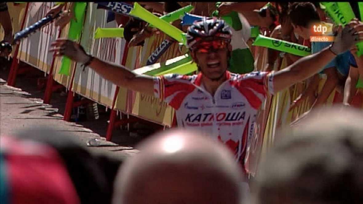 Vuelta ciclista a España. 5ª Etapa - Baza/Sierra Nevada - 23/08/11 - Ver ahora