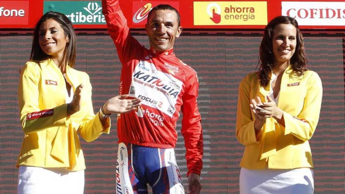 Tras su segunda victoria de etapa en la Vuelta, el español del Katusha se pone de líder