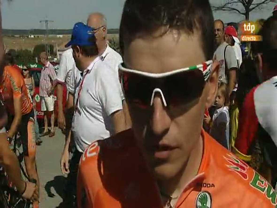El ciclista del Euskaltel asegura sentirse mejor tras una primera semana dura para él