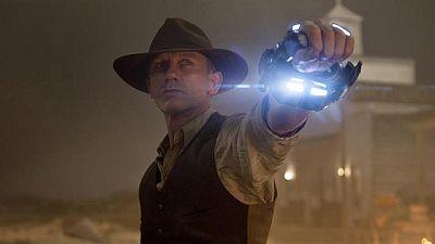 Declaraciones exclusivas de Daniel Craig, Harrison Ford y el director de 'Cowboys y aliens'