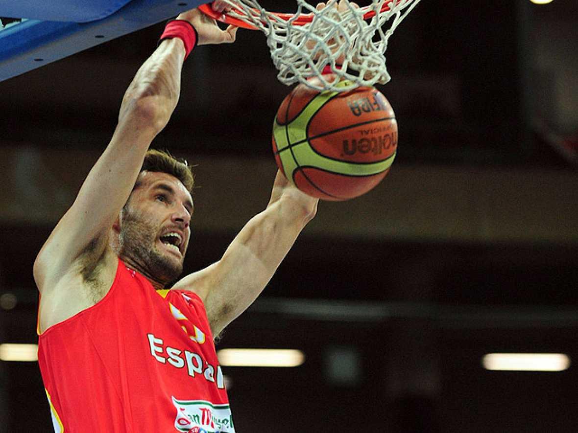 El alero de la selección española reapareció ante Portugal en el Eurobasket tras la reacción alérgica que le impidió jugar en el debut