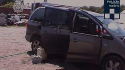 Tres familias de Madrid investigadas por el robo de 200 coches