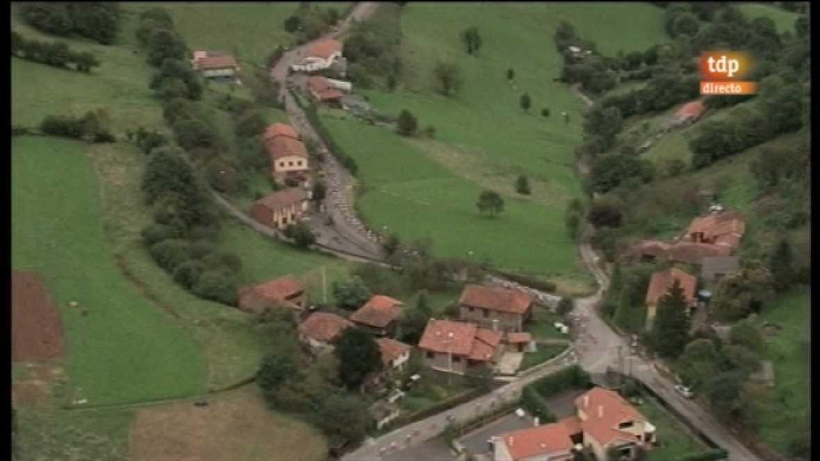 Vuelta a España. Etapa 15: Avilés - Alto de L'Angliru - 04/09/11. Primera parte  - Ver ahora