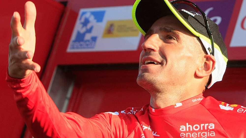 """El líder de la Vuelta tiene más cerca su victoria: """"Esperábamos los ataques del Sky y hemos podido responder bien. El equipo ha estado a la altura y ha sido impresionante. Ahora hay que empezar a pensar en la etapa de mañana, y lo que tendremos que h"""