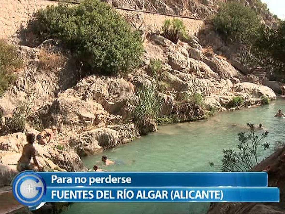 Más Gente - Para no perderse - Fuentes del río Algar, en Callosa d'en Sarrià