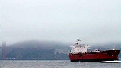 """Es una fotografía del """"Mattheos 1"""", el petrolero chipiotra secuestrado en el Golfo de Guinea"""