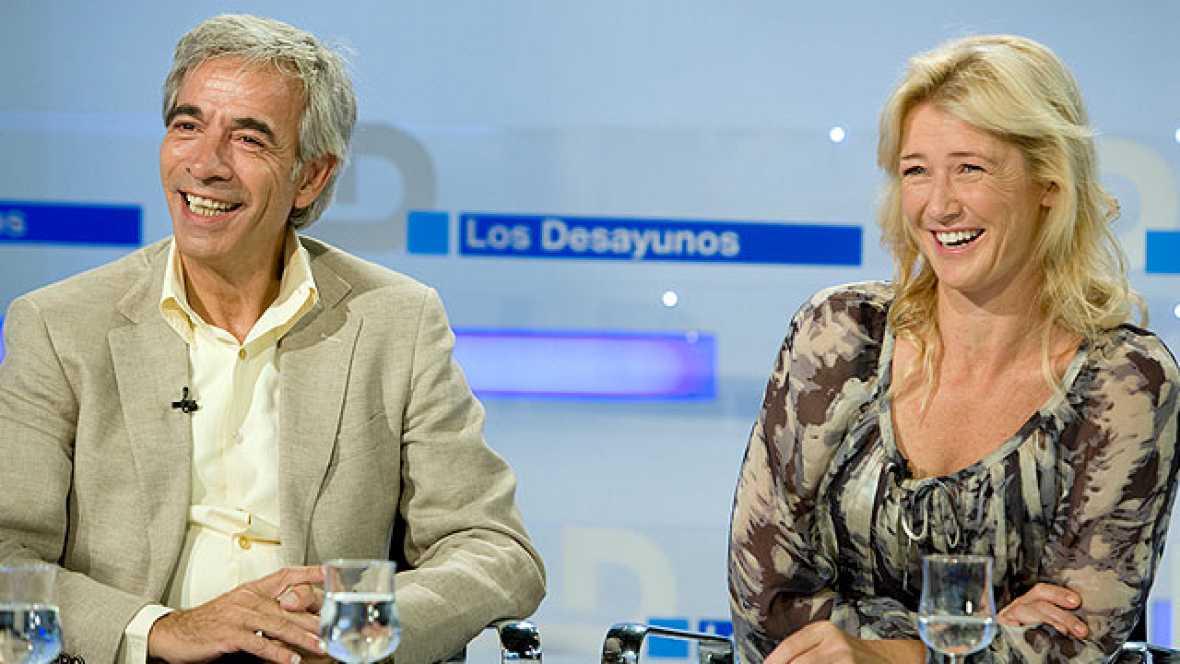 Los desayunos de TVE - Ana Duato e Imanol Arias, actores de 'Cuéntame cómo pasó'