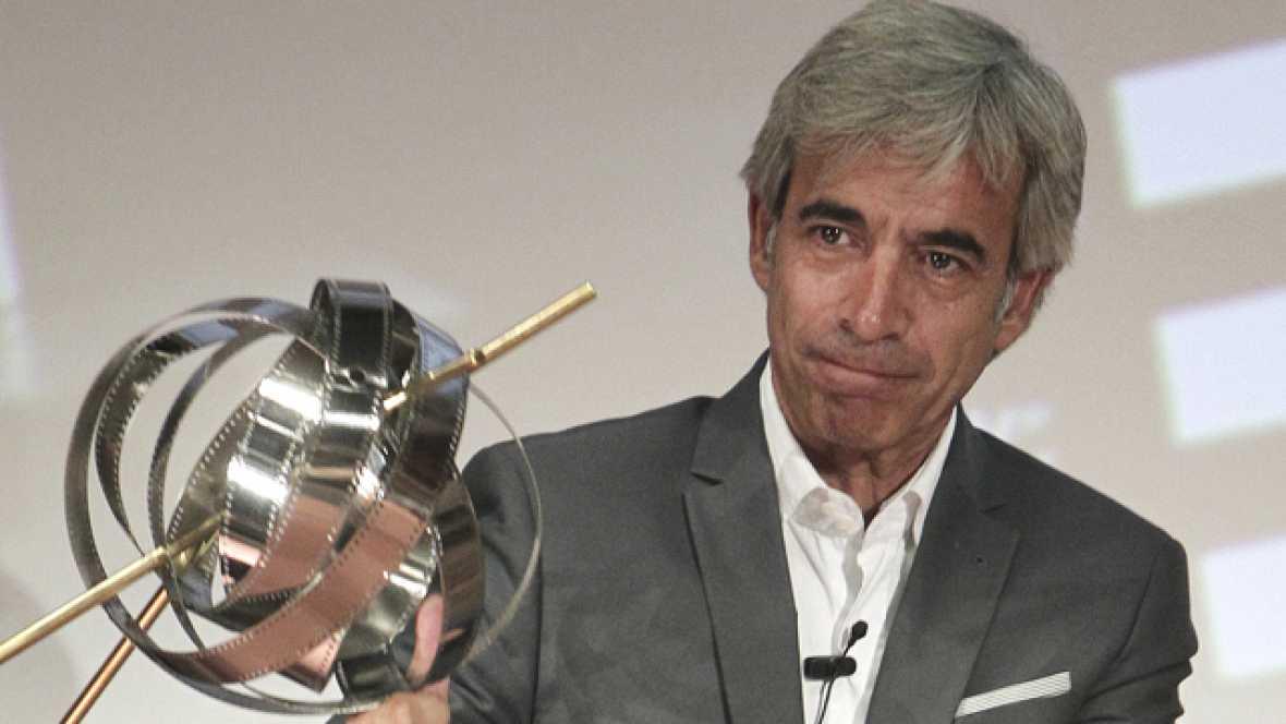 El actor Imanol Arias recibe el premio 'Una vida de cine'