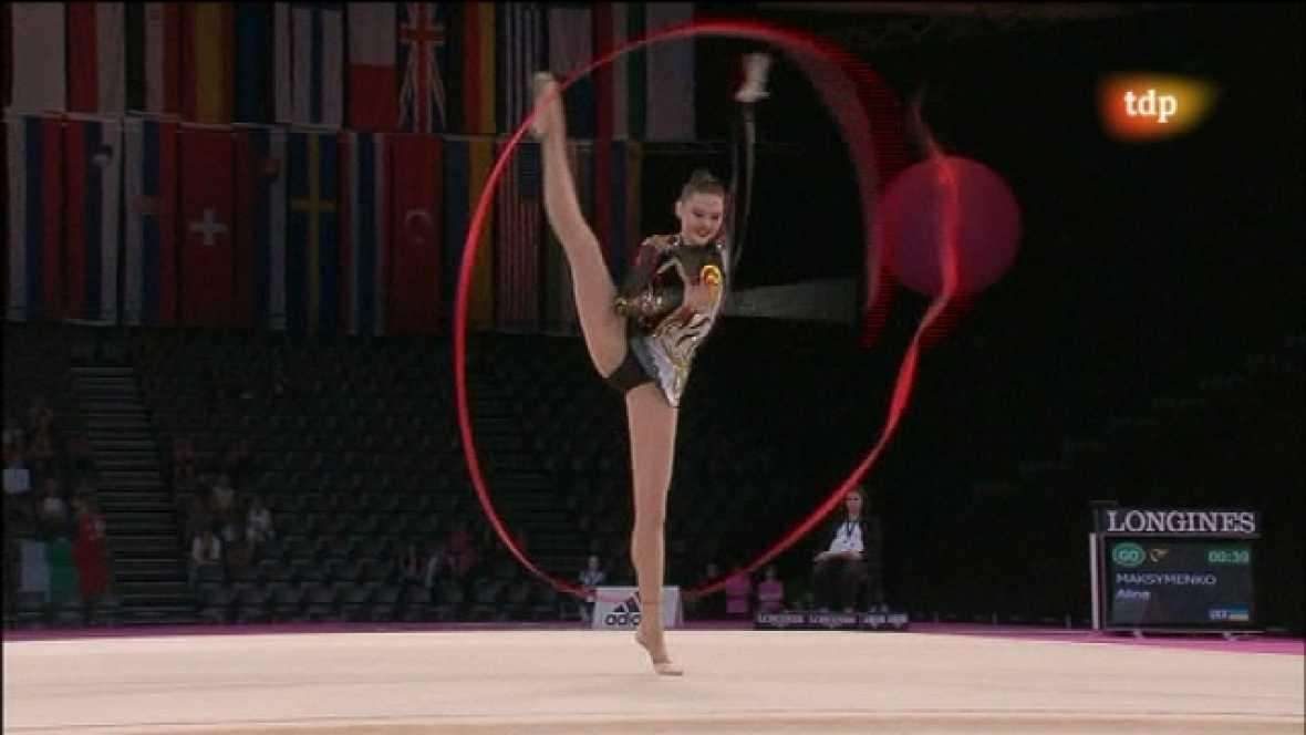 Campeonato del Mundo de Gimnasia Rítmica. Final individual aparatos: Mazas y Cinta - Ver ahora
