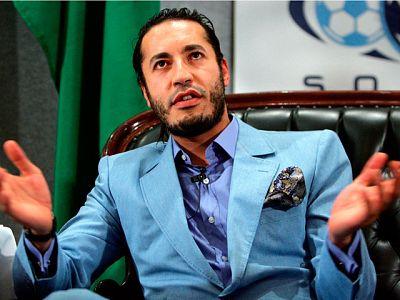Interpol lanza una orden de detención contra Saadi Gadafi a petición del CNT