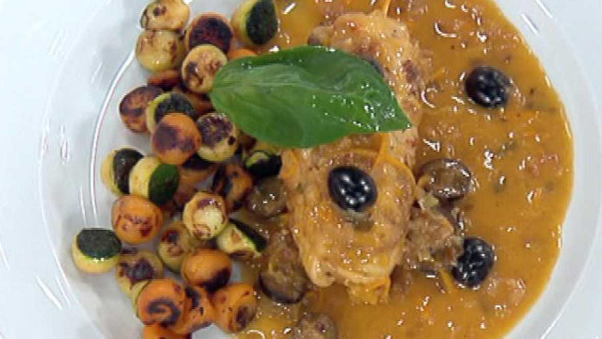 Filetes de pavo a la naranja (29/09/2011)