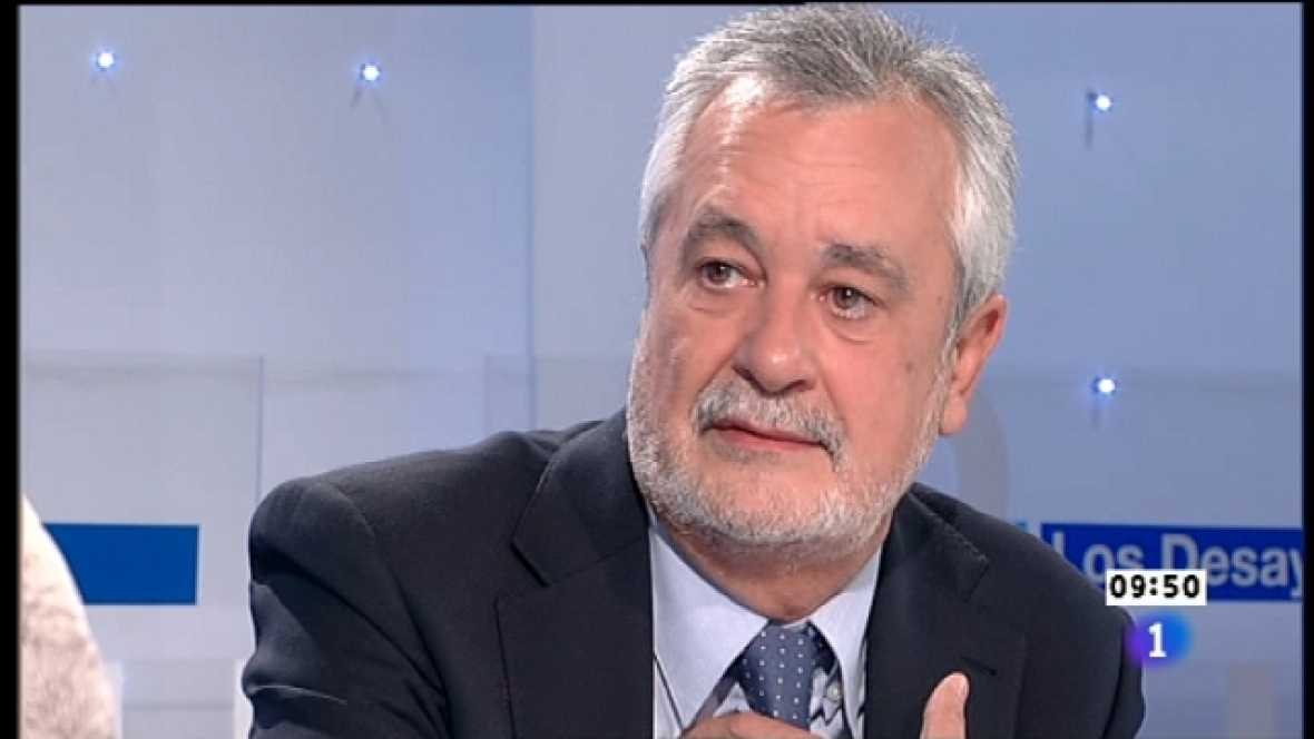 Los desayunos de TVE - José Antonio Griñán, Presidente de la Junta de Andalucía - Ver ahora
