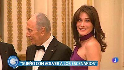 Más Gente - Carla Bruni ingresa en el hospital para dar a luz