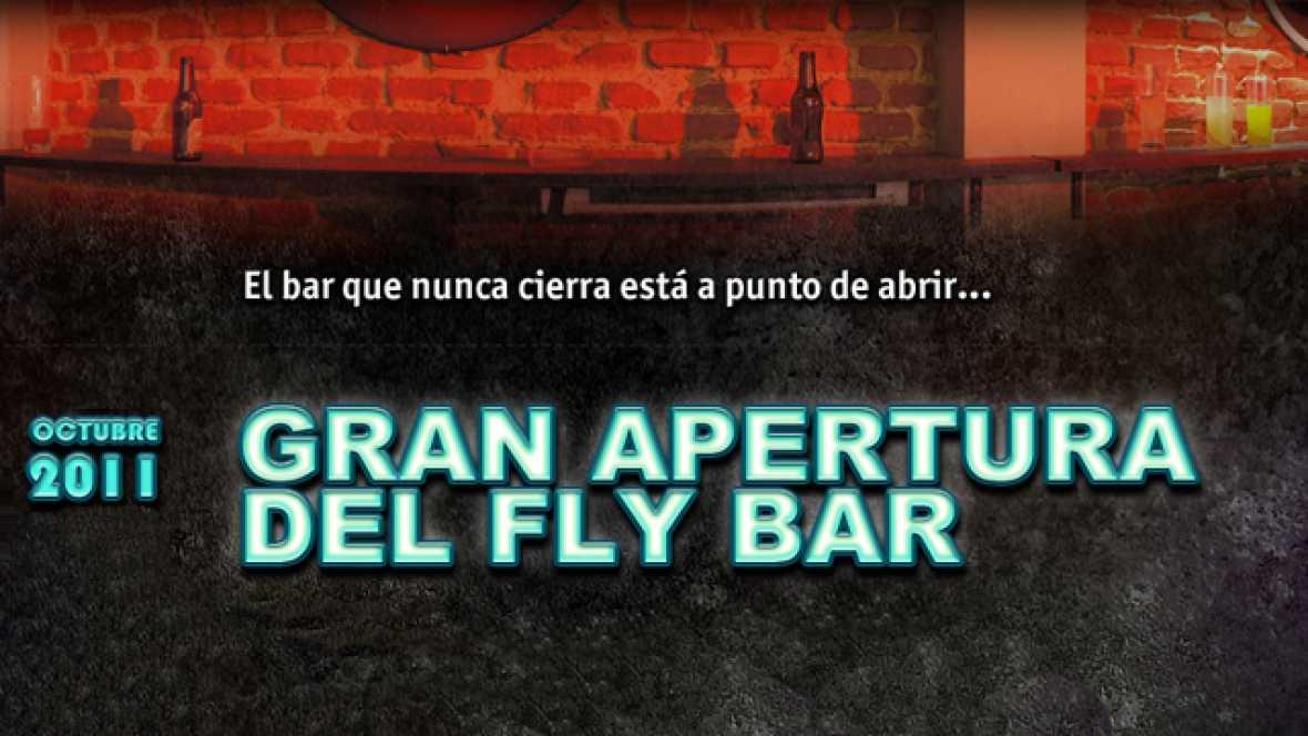 El bar que nunca cierra está a punto de abrir... ¡No te pierdas la apertura del Fly Bar!