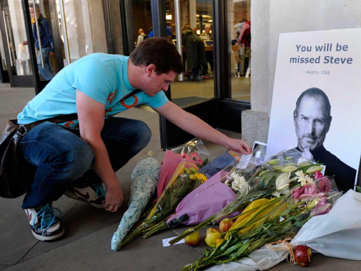 El mundo lamenta la muerte de Steve Jobs
