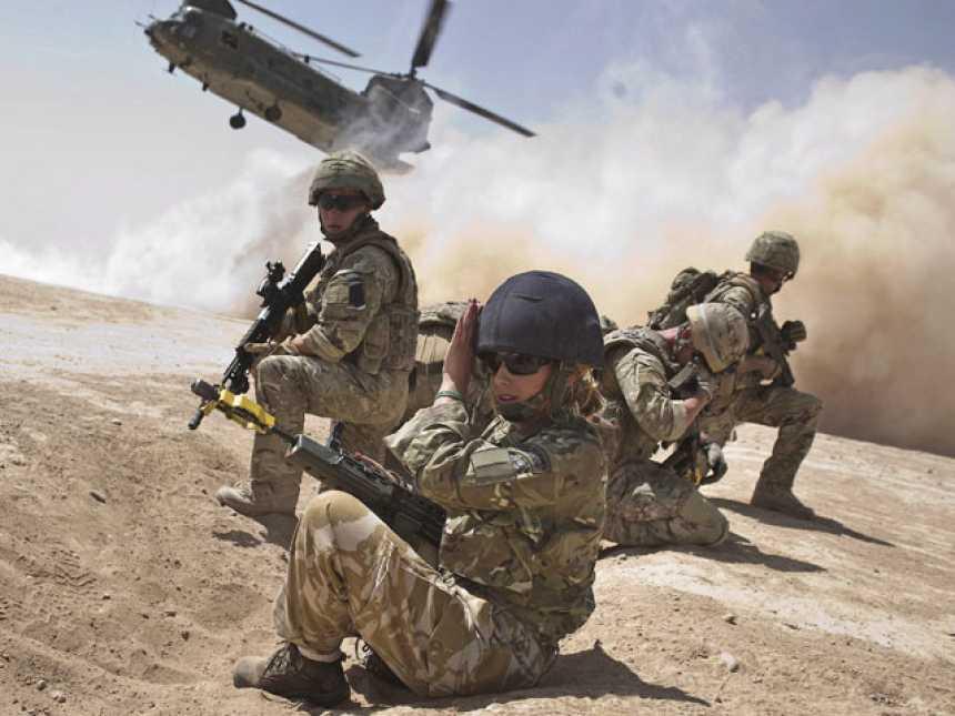Intervención militar en Afganistán, octubre de 2001