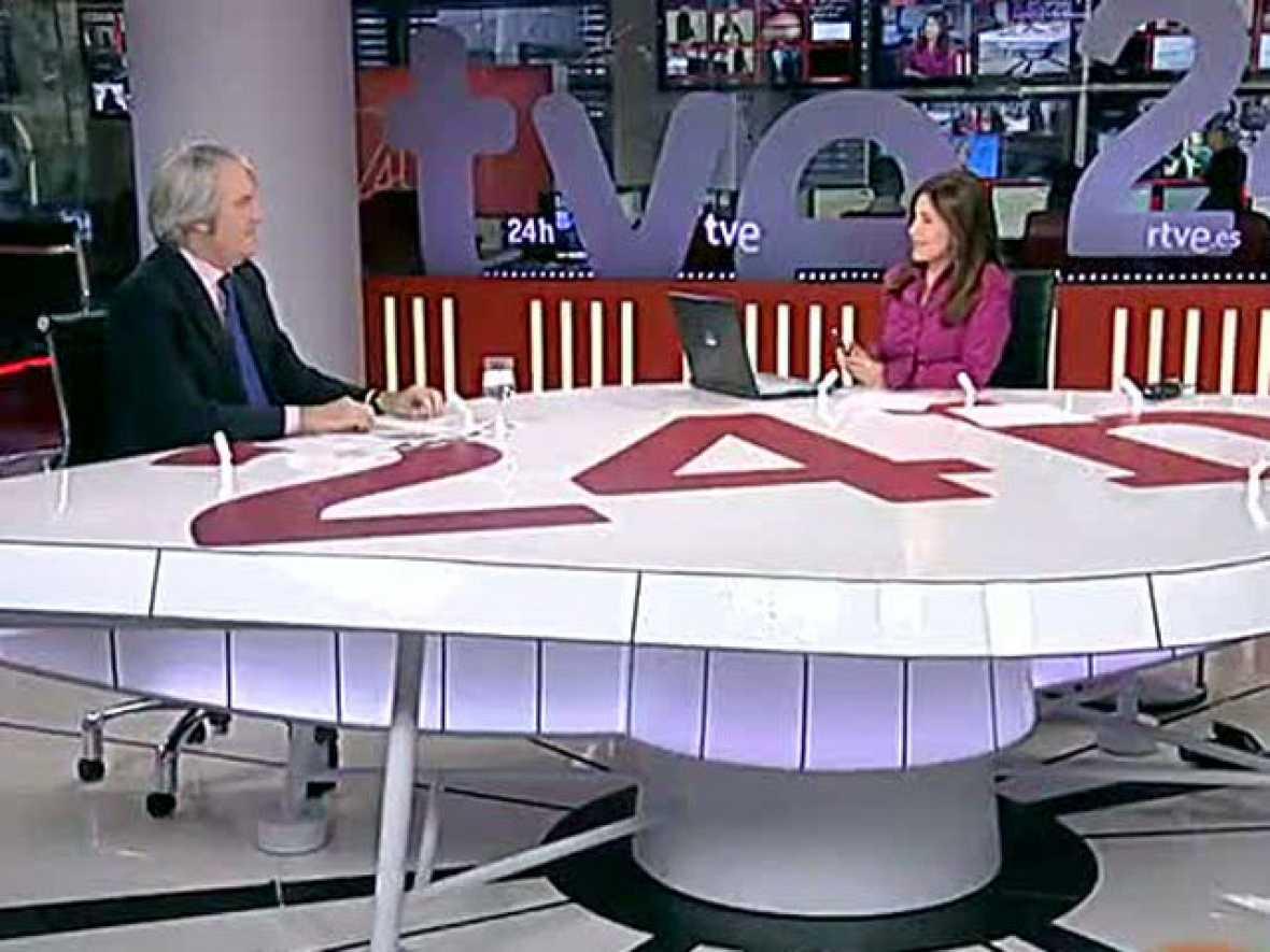 Enrique García, portavoz de la OCU, en 24 horas: La dación en pago en las hipotecas