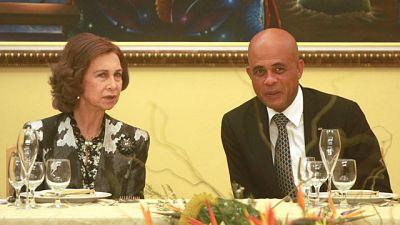 La Reina Sofía visita Haití para comprobar la labor de la cooperación española